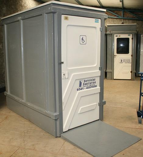 Puerta De Baño Para Discapacitados:Alquiler y Venta de Baños Quimicos Portatiles, Cabinas de Vigilancia